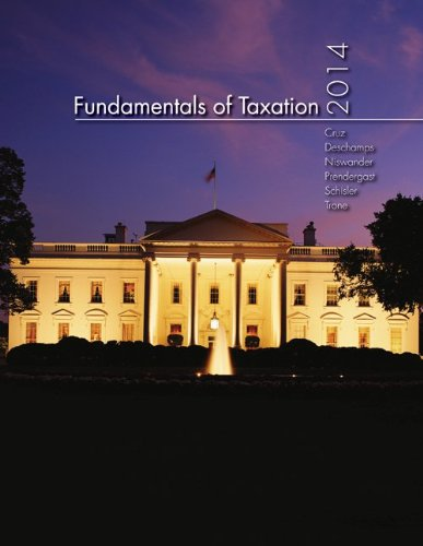 Fundamentals of Taxation 2014 Edition + Tax Act + Connect Plus (Taxation-finance Act 2014)