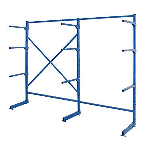 Kragarm-Regal, blau