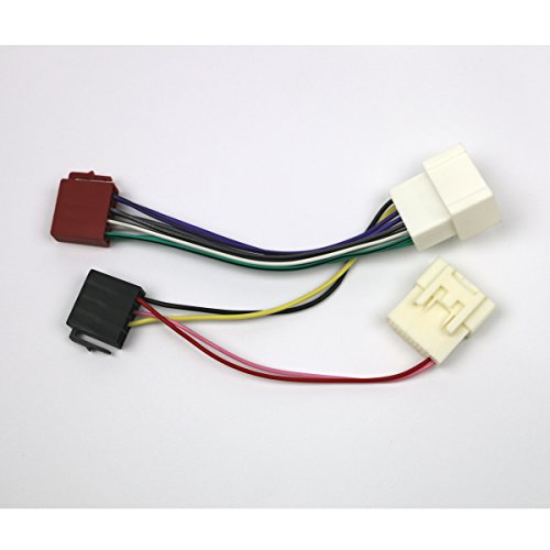 Nissan Pixo mod/èles /à CD Radio C/âblage adaptateur st/ér/éo plomb Loom ISO CONVERTISSEUR C/âble