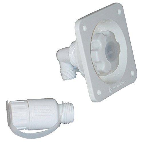 Jabsco Toilettenpumpe Wasser Druckminderer–Flush Mount–Weiß