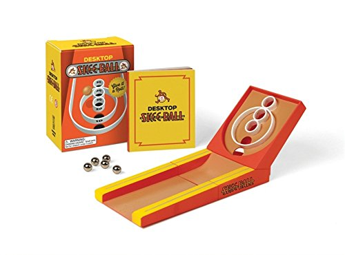 Desktop Skee-Ball: Give it a roll! (Miniature Editions) (Travel Roll Collection)