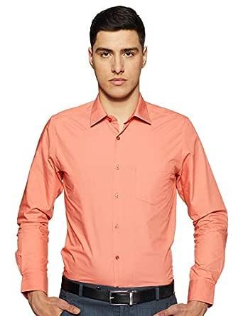 Diverse Men's Formal Shirt (8903905008862_DVF05F2L01-40_39_Coral)