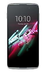 Alcatel 6039Y Onetouch Idol 3 Smartphone (11,9 cm (4,7 Zoll) IPS HD Display, 1280x720 Pixel, Quad Core 1,2GHz, Single-SIM, 8GB) dunkel grau