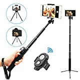 Best Selfie Sticks - Bluetooth Selfie Stick Tripod with Remote for iPhone Review
