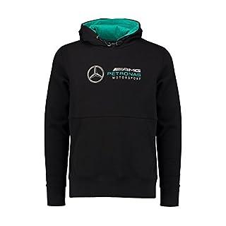 Mercedes AMG Petronas Mens Hoodie Black 2018 XL