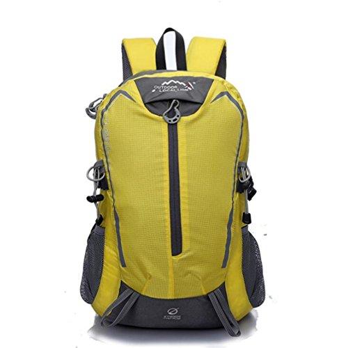 Wmshpeds 32 litri esterno impermeabile sport borsa a tracolla viaggi zaino alpinismo F