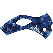 Elevation Training Mask 2,0 diseño camuflaje azul funda cubierta intercambiable sólo