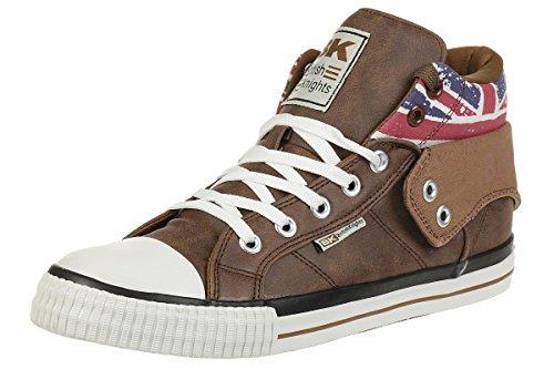 British Knights ROCO BK Sneaker B41-3709-14 England Flagge Cognac, Schuhgröße:45 EU