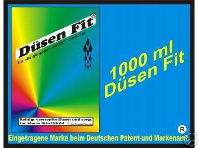 Preisvergleich Produktbild 1000 ml Original DÜSEN FIT Profi Intensiv Spiziel für alle Drucker Typen Druckkopf Canon Pixma HP Lexmark Brother Epspn -99% Weiterempfehlung -TEST LESEN-