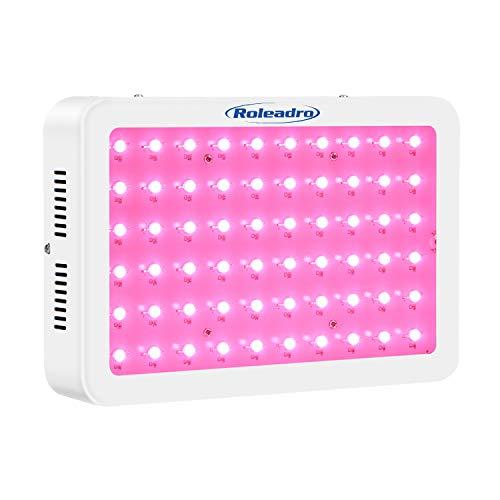Roleadro LED Pflanzenlampe 300W Pflanzenlicht Vollspektrum LED Grow Light mit IR UV Licht für Gewächshaus Pflanzen Gemüse und Blüte