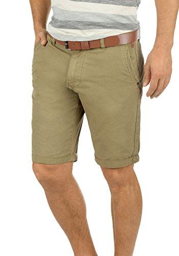 BLEND Clemens Herren Chino-Shorts kurze Hose Business-Shorts aus 100% Baumwolle, Größe:XL, Farbe:Lead Gray (70036) (Baumwoll-shorts Grays)