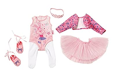 "Zapf Creation 825013"" Baby Born Boutique Deluxe Ballerina Set Puppe, bunt"