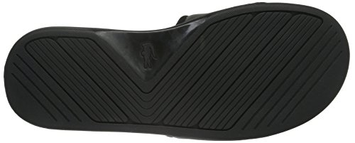 Lacoste L.30 Slide Sport Spm Blk, Tongs Homme Noir (Blk)
