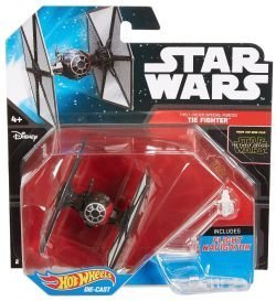 First Order Tie Fighter Star Wars Starship Hot Wheels Vehicle by Mattel