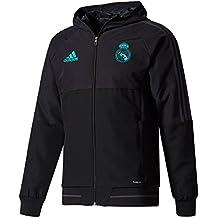 adidas PRE JKT Chaqueta Real Madrid CF, Hombre, Negro (Gripur), XL