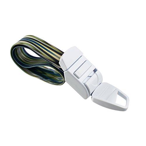 Rolseley abschnürbinde mit Abstrakt-V4Muster mit ABS Kunststoff Schnalle latexfrei Elastic Band perfekt für Ärzte, Krankenschwestern, Studenten und Rettungsassistenten