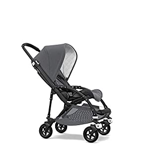 Bugaboo Bee 5 Classic Collection Pushchair Black Chassis - Grey Melange   13