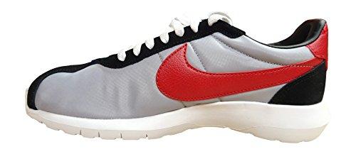 Nike Roshe Ld-1000 QS, Scarpe da Corsa Uomo Grigio / Nero / Rosso (Wlf Gry / Vrsty Rd-Blk-Sfty Orng)
