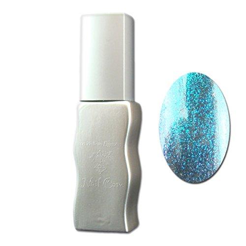 Eigenart UV Vernis à Ongles/Gel Polish Flux UV polix Effects – Space Particle Blue (Bleu), 10 ml