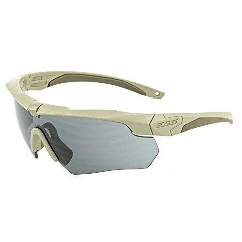 ESS Armbrust 2x Retail Kit Coyote Braun 2Rahmen Clear Lens Smoke Gray Objektiv 74