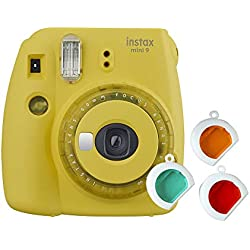 Instax Mini 9 Appareil Photo Transparent Jaune