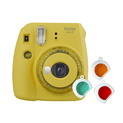 Instax Mini 9 Clear - Color Amarillo