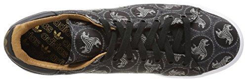 Adidas M17184, Tennis Homme Multicolore (Cblack/Cblack/Mesa)