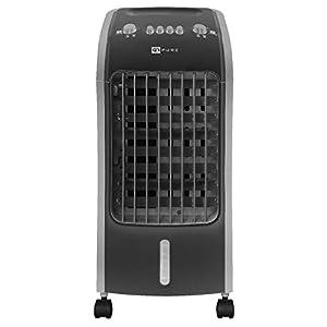 Novohogar Acondicionador de Aire Frío Portátil Q7 Pure 3 en 1. Climatizador, Humidificador y Purificador – Esterilizador…