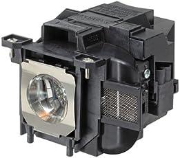 Lamp module for EPSON EB-955W EB-S17 EB-S18 EB-W18 EB-W22 EB-X18 EB-X20 EB-X24 EH-TW490 EH-TW5200 projectors. Type UHE