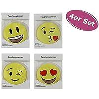 itsisa 4er Set Taschenwärmer Emoji - Wichtelgeschenk - Handwärmer - Taschenheizkissen preisvergleich bei billige-tabletten.eu