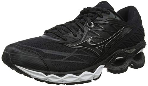 Mizuno Wave Creation 20, Scarpe da Running Uomo, Nero Black/DarkShadow 12, 44 EU