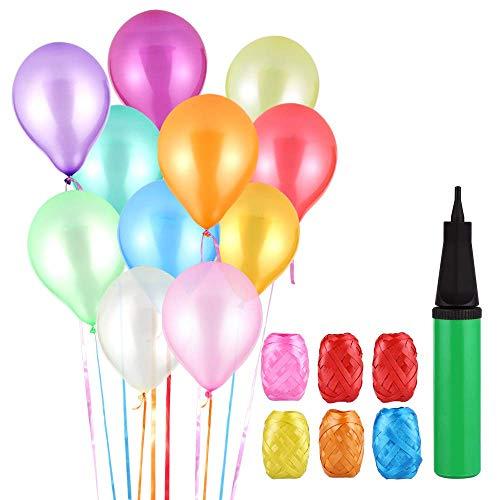 Mgrett Luftballons Bunt, 120 Par...