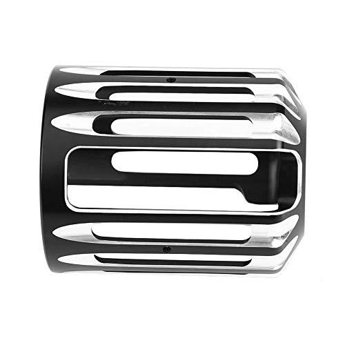 Broco Coperchio del filtro olio di alluminio di CNC del motociclo for Sportster XL 883 Dyna Softail Touring Univ