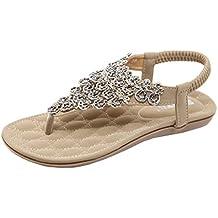 2019 Sandalias Bebe Niña Zapatos Planos De Mujer Bead Bohemia Lady Slippe Sandalias Zapatos Al Aire