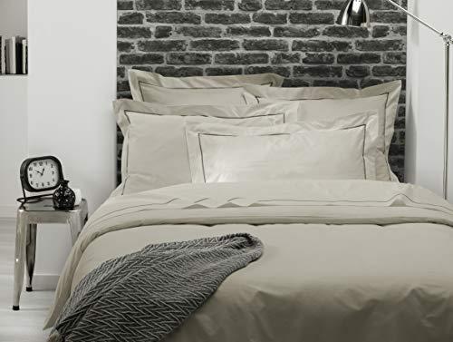 ELENA PARIS - Taie d'oreiller 65x65 cm - Beige