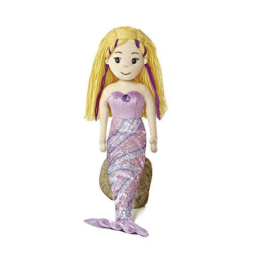 Preisvergleich Produktbild Aurora Mermaid Sea Sparkles Meerjungfrau Nixe Stoffpuppe Mädchen Puppe Plüsch: Art: Serena 45,5 cm