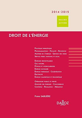 Droit de l'énergie 2014/15 - 1ère édition