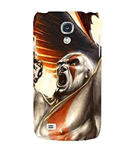 For Samsung Galaxy S4 Mini I9195I :: Samsung I9190 Galaxy S4 Mini :: Samsung I9190 Galaxy S Iv Mini :: Samsung I9190 Galaxy S4 Mini Duos :: Samsung Galaxy S4 Mini Plus Cartoon, Black, Cartoon and Animation, Printed Designer Back Case Cover By CHAPLOOS