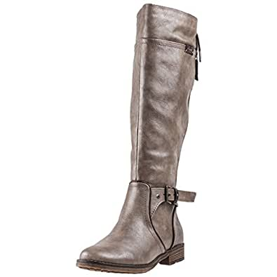 Up Bottes Lace Taupe Eu 42 High Femmes Mustang Knee n0XPNk8wO