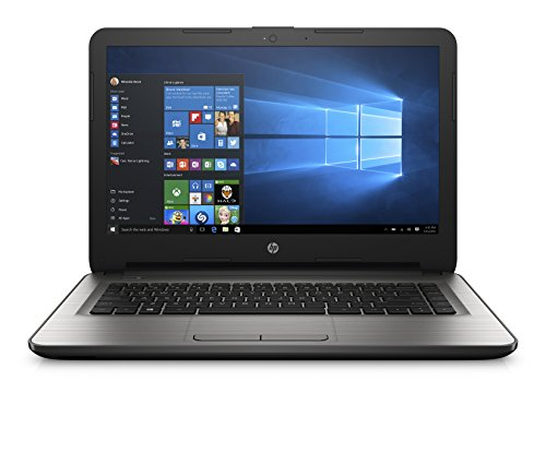 HP 14-AM122TU 14-inch Laptop (7th Gen Core i5-7200U/4GB/1TB/Windows 10 Home/Integrated Graphics/ Pre-installed MS Office Home and Student 2016), Turbo Silver image