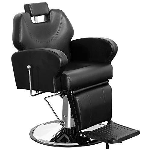 Barberpub 8907bk - sedia da parrucchiere
