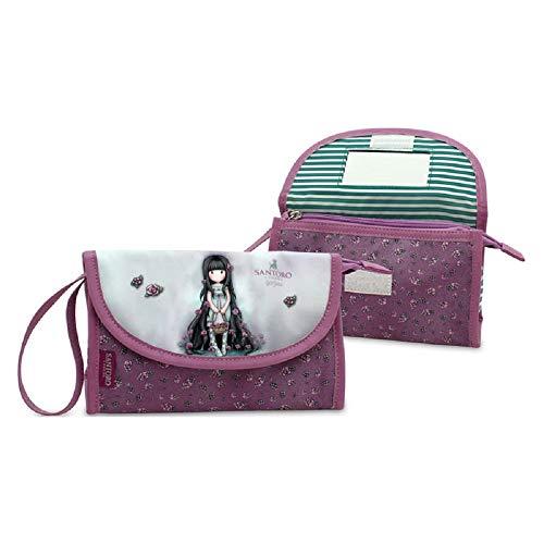 fb12b2cfa0 Borsetta Beauty Case Gorjuss per Bambine Santoro London Colore Fucsia
