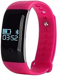 Newest Smart Wristband Heart-rate Blood Oxygen Monitor Pedometer Calorie Burn Record Smart Watch Band