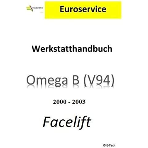 Riparazione istruzioni/manuale officina (CD) Opel Omega B Facelift - Motore Manovella