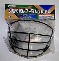 Franklin BASEBALL/SOFTBALL BATTING HELMET WIRE FACE GUARD #2709S3 by Franklin Sports
