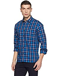 Arrow Sports Men's Checkered Regular Fit Cotton Casual Shirt