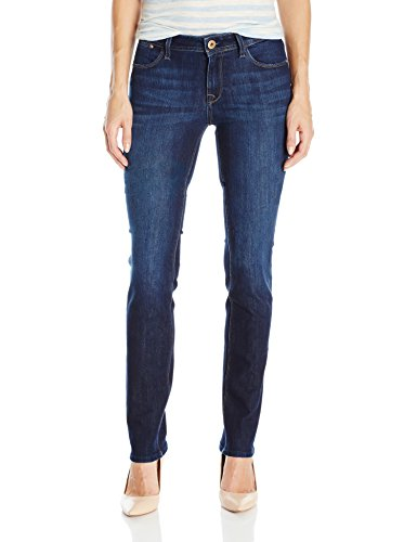 DL1961 Women's Coco Curvy Slim Straight Jeans, Solo, 24