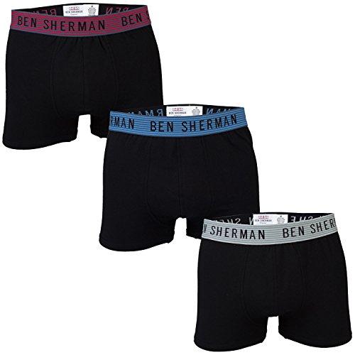 ben-sherman-boxer-homme-noir-noir-noir-x-large