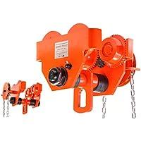 Pro-Lift-Montagetechnik 3000kg Laufkatze, schwere Ausführung, mit Getriebe + Haspelkette, N, 01220