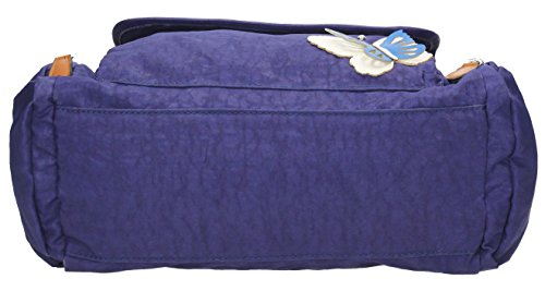 SwankySwans, Damen Umhängetasche Blau Königsblau Swankyswans
